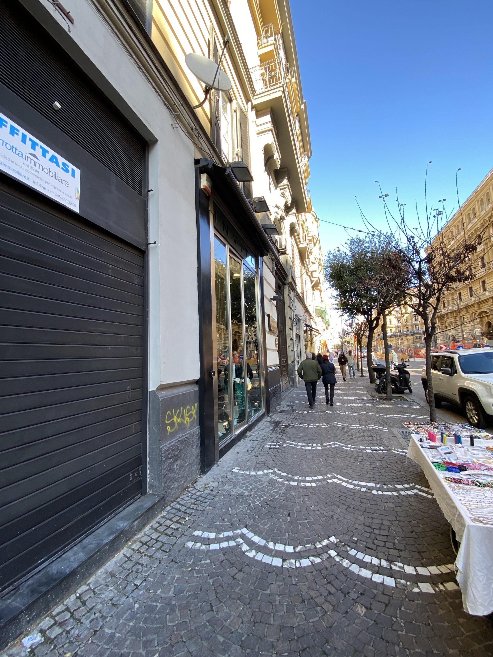 Napoli Corso Umberto locale commerciale